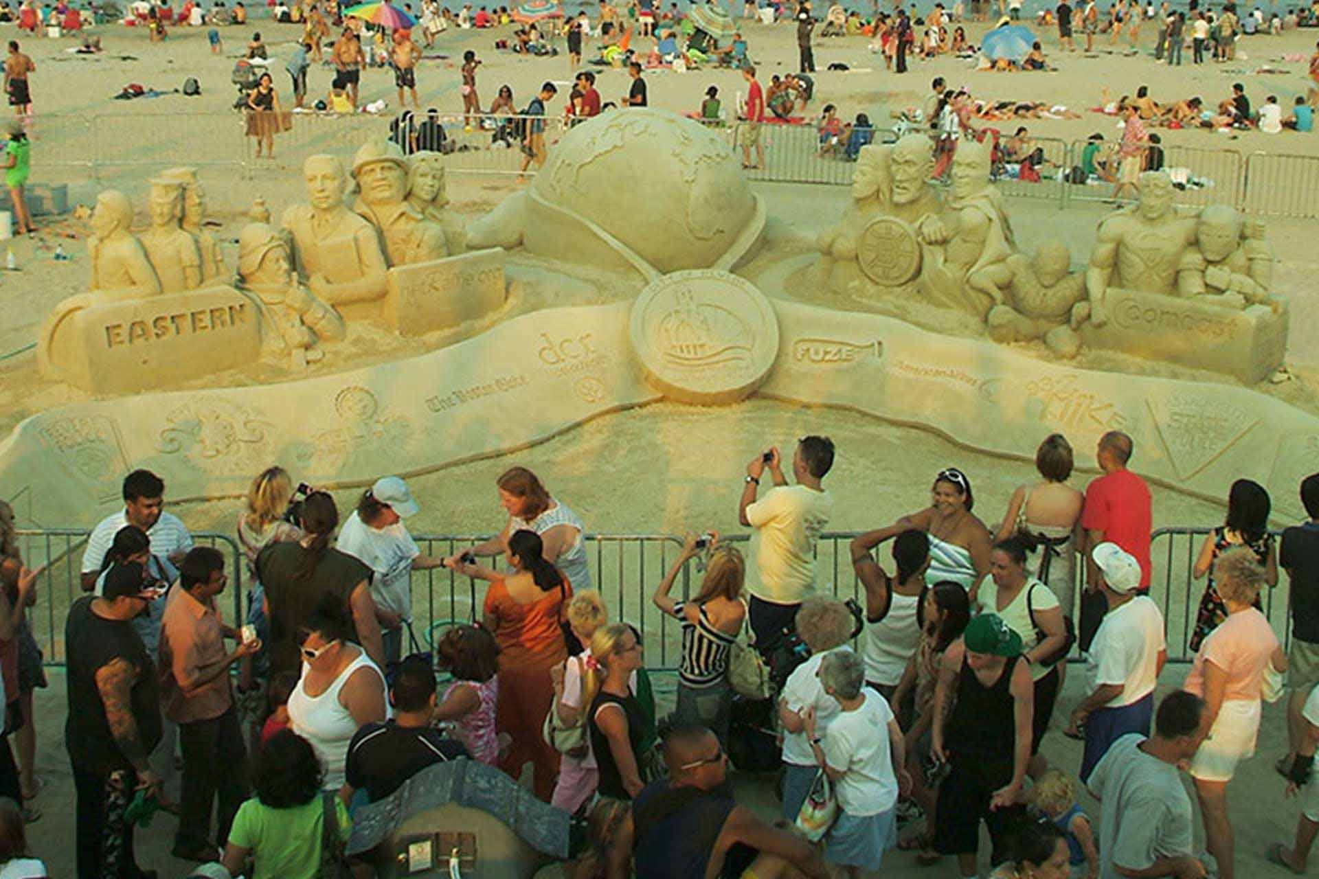 Sand Sculpting Events