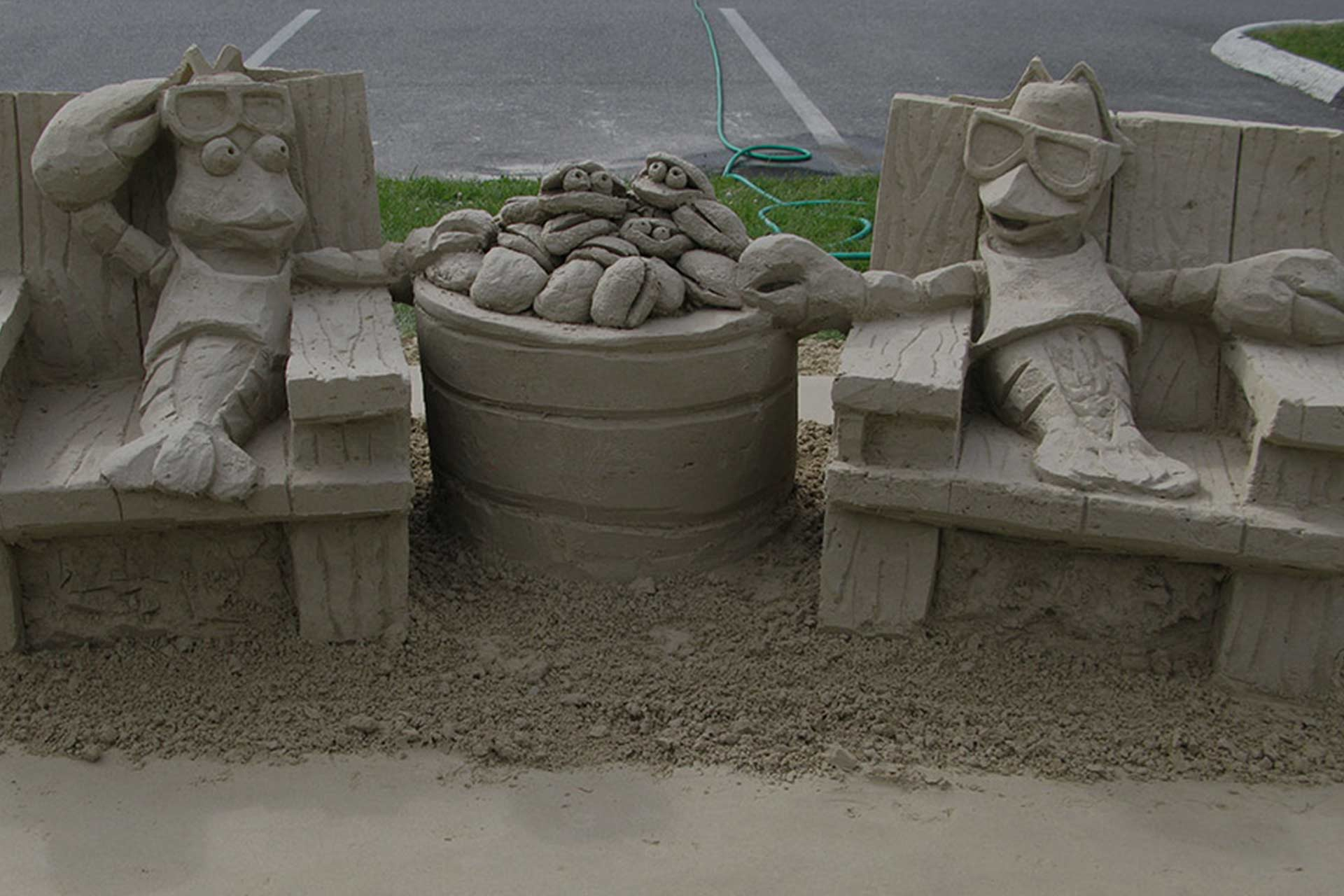 Sand Sculpting Trail