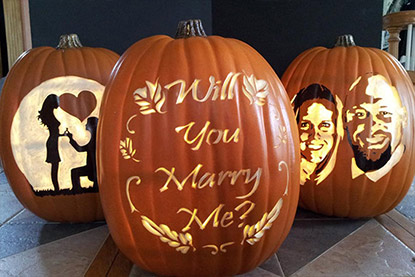 Marriage Proposal Pumpkins