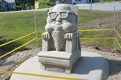 2018 sand sculpting trail