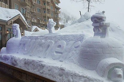 Utah Snow Sculpting