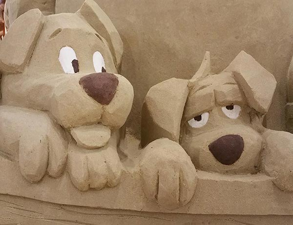Boston Sand Sculpting