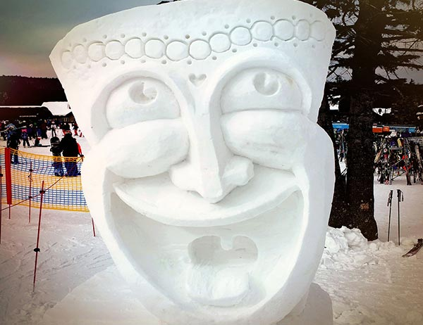 Snow Sculpting New England