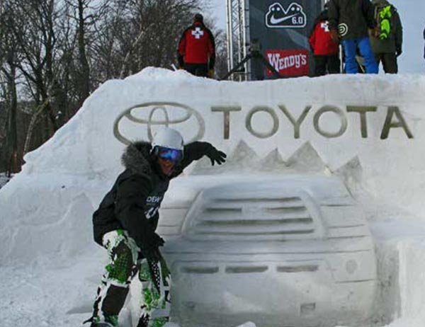 Snow Sculpting Colorado